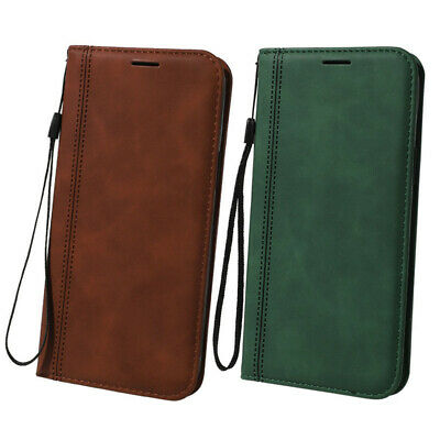 AU11.69 • Buy Case For IPhone 8 7 6 6S Plus 12 11 Pro Max X XR XS Leather PU + Soft Back Cover