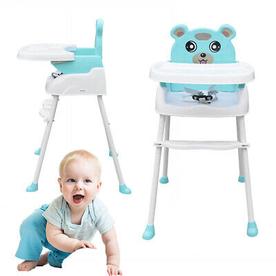 £27.80 • Buy 4 In 1 Baby Child Highchair Infant High Feeding Seat Toddler Table Chair 3 Color