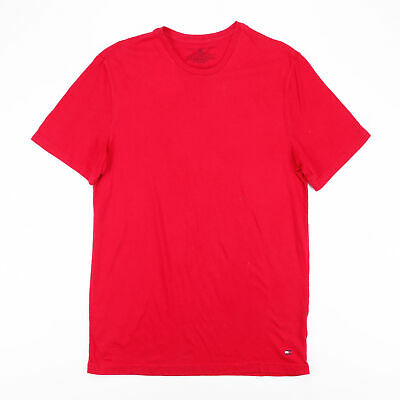 £11.99 • Buy TOMMY HILFIGER  Red Classic Short Sleeve T-Shirt Mens M