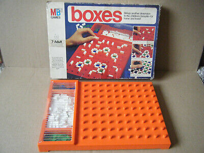 £12.99 • Buy Vintage Rare  BOXES  Family Game For Home Or Travel. By MB Games 1976. Complete.