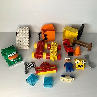 AU30 • Buy Bulk Lot Of Duplo Related To Cars  & Construction Including A Motorcycle