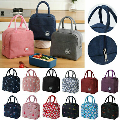 AU10.99 • Buy Lunch Bag Insulated Thermal Cool Food Storage Bag Box Carry Tote For Adults Kids