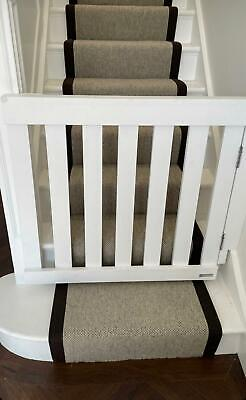 £130 • Buy Wooden Bespoke Chunky Baby/Pet Gate Handmade Hinges And Lock Included