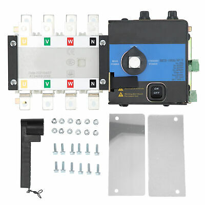 £106.13 • Buy Dual Power Automatic Transfer Switch ATS Power Distribution Control Equipment