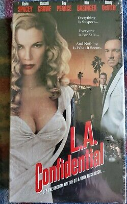 AU10.10 • Buy L.A. Confidential VHS Movie Kevin Spacey Kim Basinger Russell Crowe NEW SEALED