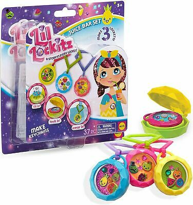 £2.99 • Buy Lil Lockitz Make Your Own Keychain & Clip Keyring Fun Toy Gift