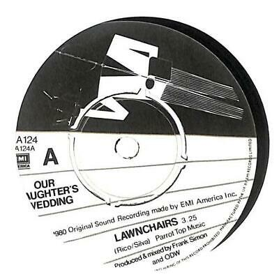 £3.99 • Buy Our Daughters Wedding - Lawnchairs - 7  Vinyl Record Single