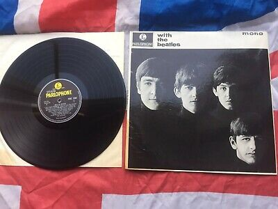 £39.99 • Buy The Beatles-With The Beatles Vinyl LP UK Press 1963 PMC 1206 Plays Superb
