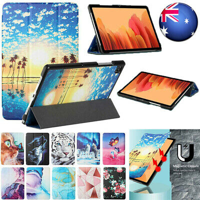 AU14.69 • Buy For Samsung Galaxy Tab A A7 S6 Lite S7 Plus Folded Leather Flip Stand Case Cover
