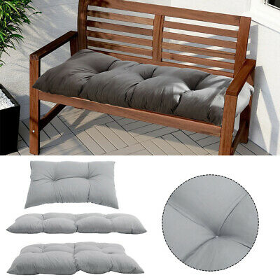 £17.95 • Buy Garden Bench Cushion Seater Indoor & Outdoor Chair Cushions Super Thick Seat Pad