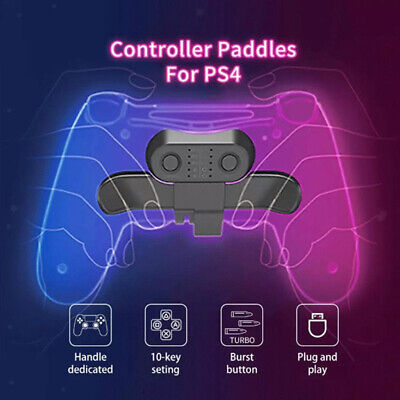 AU17.66 • Buy 2 Remapleable Buttons Wireless Game Controller Key For PS4 Accessories