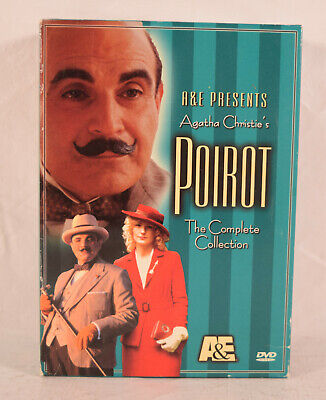 £13.75 • Buy Poirot The Complete Collection DVD 4 Disc Set EUC Agatha Christies Poirot