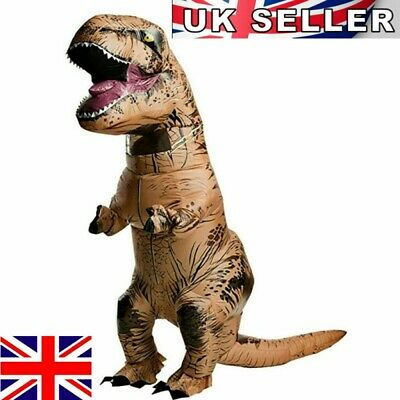 £29.99 • Buy T-Rex Ride On Dinosaur Inflatable Costume Cosplay Party Fancy Dress Adult Kid UK