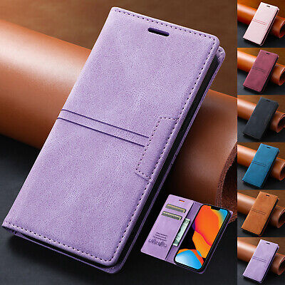 AU12.99 • Buy For IPhone 12 11 Pro Max XS XR X 7+ 8 SE2 Luxury Leather Wallet Stand Case Cover