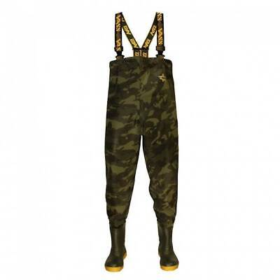 £99.95 • Buy Vass Tex 785 Camouflage Heavy Duty Chest Waders All Sizes