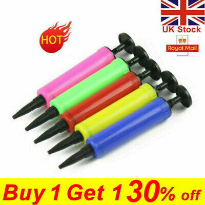 £3.99 • Buy 1X Random Balloon Pump Hand Held Action Plastic Inflator For Party Decor Tools