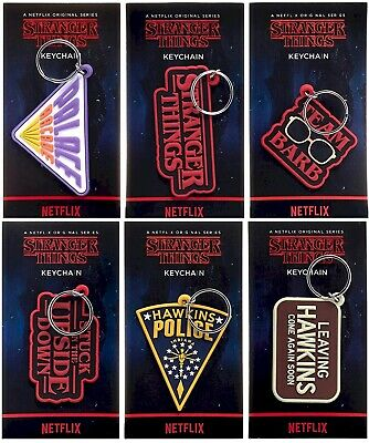£2.50 • Buy Stranger Things Official Keyrings Six Different To Collect NEW