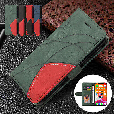 AU12.59 • Buy For IPhone 11 12 Pro Max XS XR 8+ 7+ Leather Wallet Flip Card Holder Case Cover
