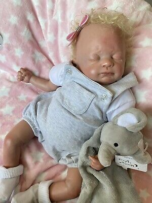 £120 • Buy Reborn Baby Doll With Curly Hair