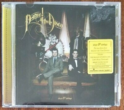 £6.70 • Buy Vices & Virtues By Panic! At The Disco (CD, Mar-2011, Fueled By Ramen (Label))