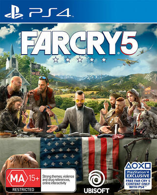 AU22.95 • Buy Far Cry 5 (PlayStation 4 PS4) Fast Express Postage 📮
