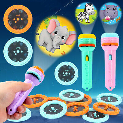 AU9.98 • Buy Kid Torch Projector Flashlight Projector Toys LED Game Bedtime Fun Birthday Gift