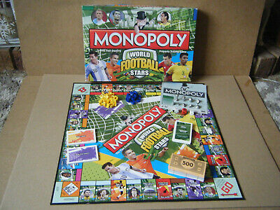 £12.99 • Buy Monopoly  WORLD FOOTBALL STARS  Property Trading Game. By Hasbro 2014. Complete.