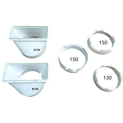 AU18.48 • Buy Exhaust Duct Interface For Portable Air-Conditioner Exhaust Hose Tube Connector