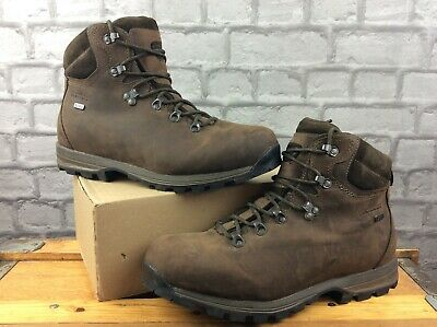 £36 • Buy Brasher Mens Uk 10 Eu 44 Brown Leather Country Walker Boots Rrp £135 C