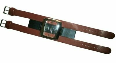 £21.98 • Buy Vintage 1990's Joe Boxer Black & Red Face Double Band Wristwatch Watch