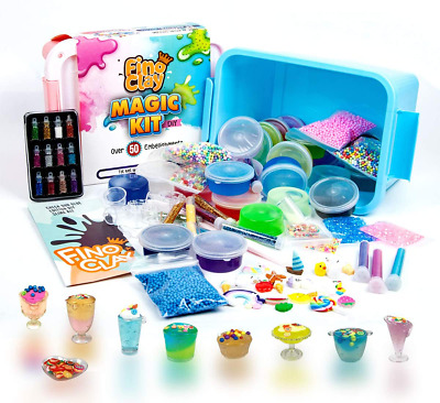 AU51.99 • Buy Toysbutty DIY Slime Kit 24 Colors Premade Slime For Girls Boys Over 100 Accessor