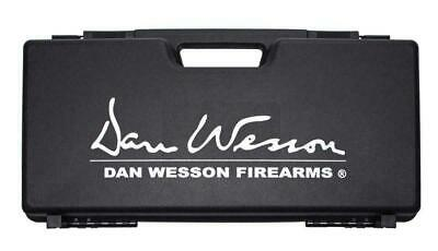 £24.99 • Buy ASG Dan Wesson Airsoft Revolver Carry Case Black DW Logo Hard Plastic 17365 Bb's