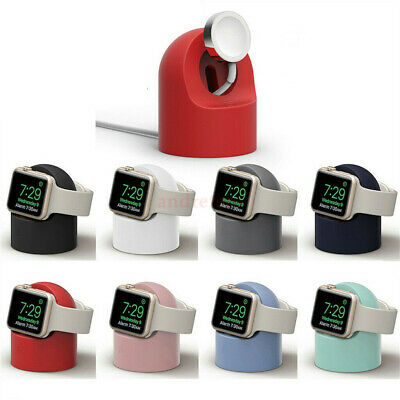AU17.92 • Buy 【Premium Silicone】Apple Watch Holder Stand Charging Dock IWatch 1 2 3 4 5 6 SE