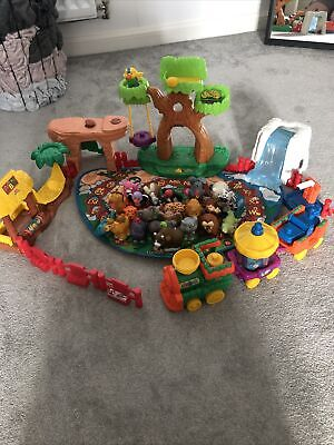 £40 • Buy Fisher Price Little People ABC Animal Zoo & Train Play Set Figures VERY RARE