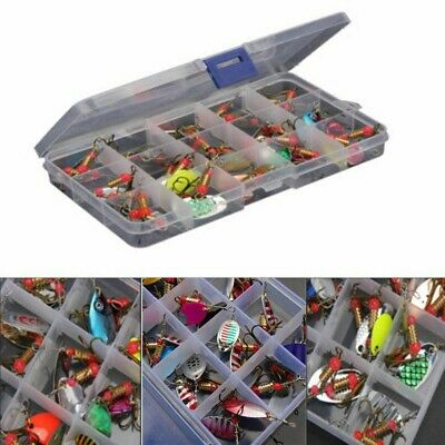 AU24.59 • Buy 30xMetal Spinners Fishing Lures Sea Trout Pike Perch Salmon Bass Fishing Tackle!