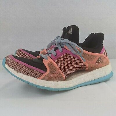 AU61.78 • Buy Adidas Pure Boost X TR Running Shoes Women's Size 6 AQ5222 Bright Colorful