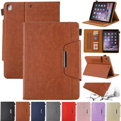 AU24.99 • Buy For IPad 5/6/7/8/9th Mini Air Pro 11 12.9 2021 Leather Flip Smart Case Cover