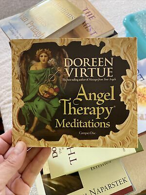 £10.86 • Buy Angel Therapy Meditations By Doreen Virtue (2008, Compact Disc, Unabridged...