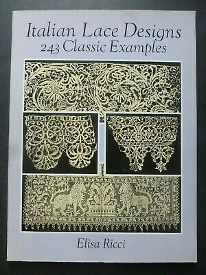 AU19.47 • Buy ITALIAN LACE DESIGNS By ELISA RICCI - 243 Classic Examples
