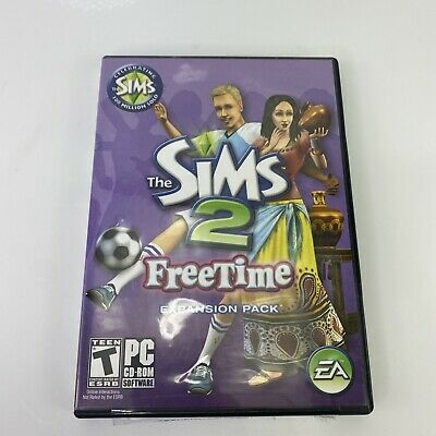 £2.90 • Buy The Sims 2 Freetime Expansion Pack (2008, PC CD-ROM) W/ Manual Disc 2 Only