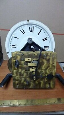 £50 • Buy Large Old Empire Fusee Clock Movement  & Dial