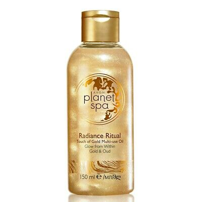 £1.79 • Buy Avon Planet Spa Radiance Ritual - Touch Of Gold - Bath & Body Multi-Use Oil