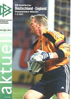 £29.99 • Buy GERMANY V England (World Cup Qualifier In Munich) 2001 - Famous 1-5 Game!