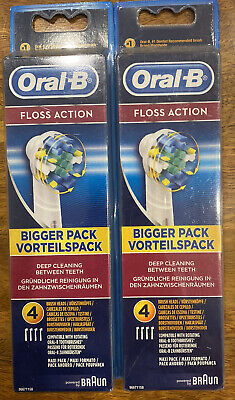 AU36.95 • Buy 8x Oral B Replacement Electric Toothbrush Heads Floss Action. New. Freeship