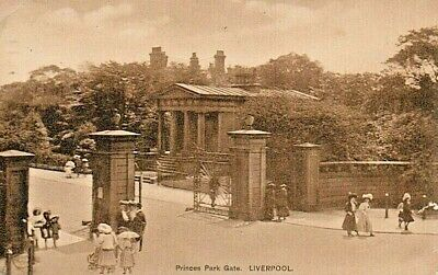 £2.95 • Buy Liverpool Princes Park Gate Posted 1900'