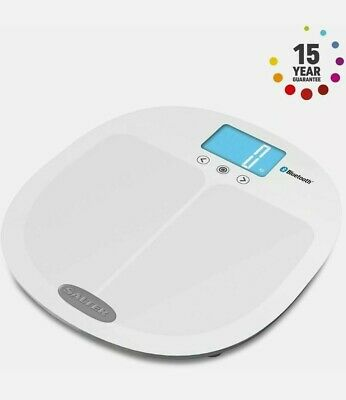 £39.95 • Buy Salter Curve Bluetooth Smart Analyser Pro Bathroom Scale - White