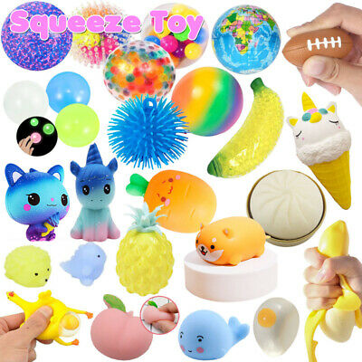 AU10.40 • Buy Colorful DNA Stress Ball Squishy Exercise Hand Toys Stress Relief Fidget Squeeze