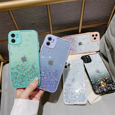 AU9.48 • Buy Star Sky Gradient Clear Case For IPhone 6 S 7 8 Plus X XR XS 11 12 Pro Max Cover