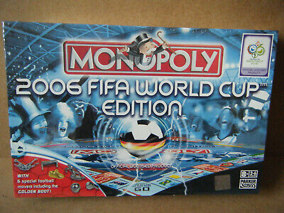 £17.99 • Buy Monopoly  2006 FIFA WORLD CUP EDITION . By Parker / Hasbro 2006. New & Sealed.