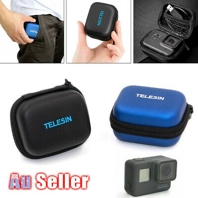 AU10.96 • Buy Small Mini Storage Carry Case Pouch Bag For GoPro Hero 5 4 3+ Camera Accessories